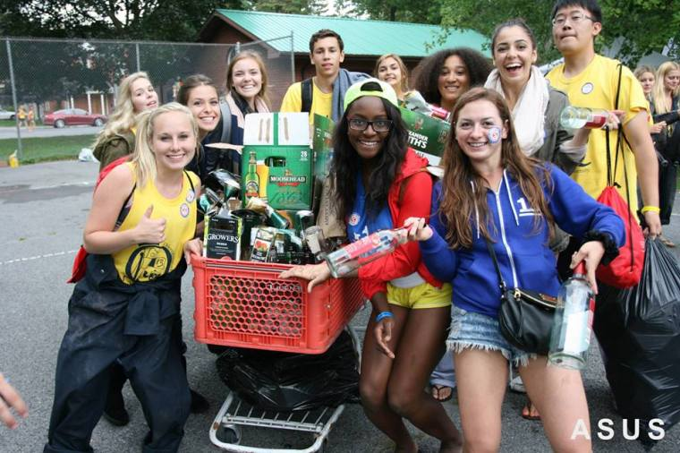 Bottle Drive - Frosh Group